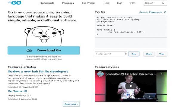 プログラミング言語Go