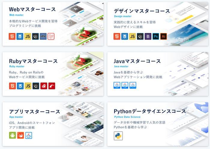 CodeCampのコース